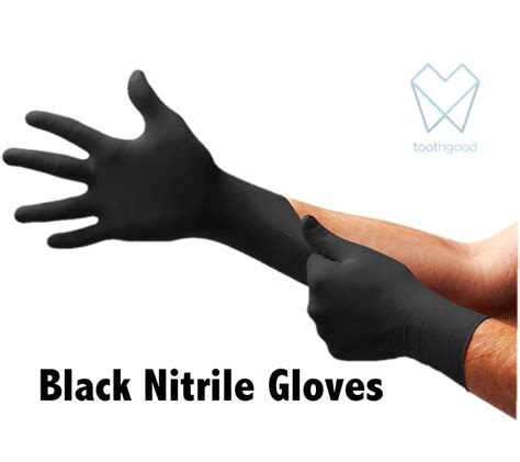 black nitrile gloves black nitrile gloves top gloves toothgood