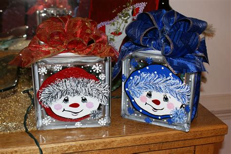 Decorated Glass Blocks by Glass Blocks On Lighted Glass Blocks Painted