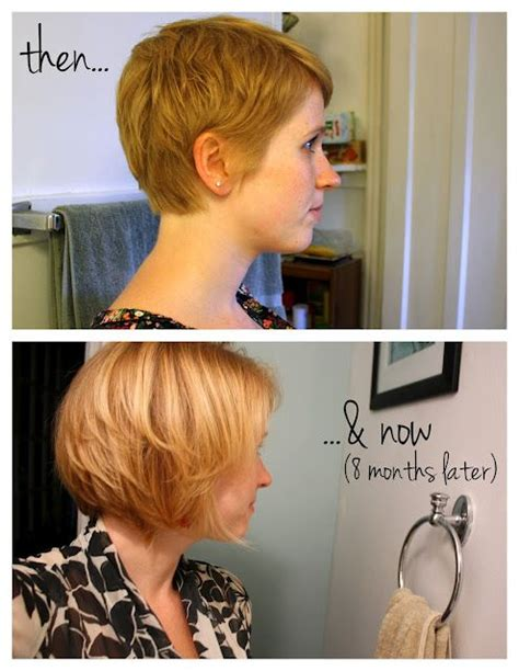 growing out pixie timeline bobs pixie to bob and my hair on pinterest