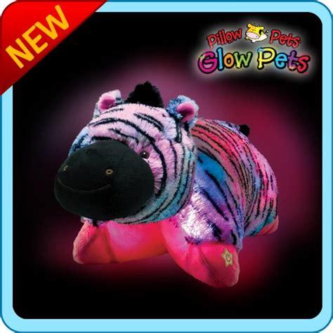 Glow Pillow Pet by Pillow Pets Glow Pets Zebra 12 Gadgets Matrix