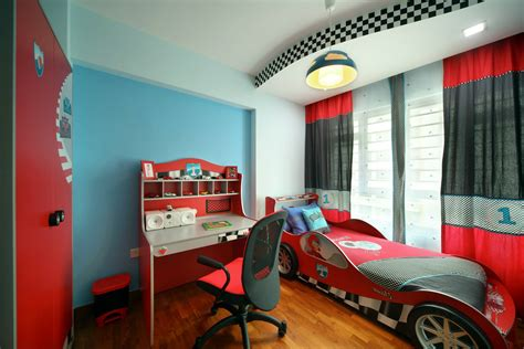 sports themed desk accessories bedroom unique car beds kid decor ideas for boy iranews
