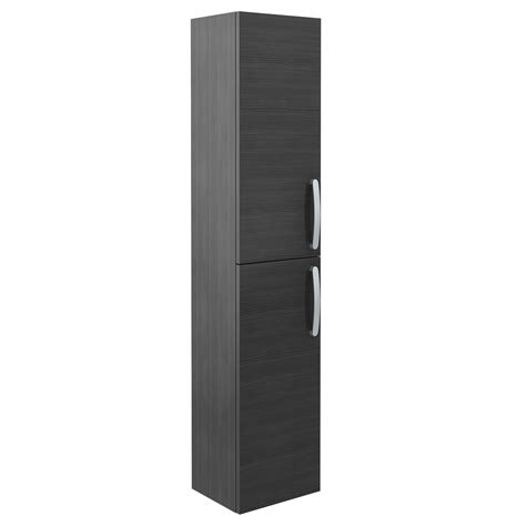 Black Storage Cabinet With Doors Wall Hung 2 Door Storage Cabinet Hacienda Black
