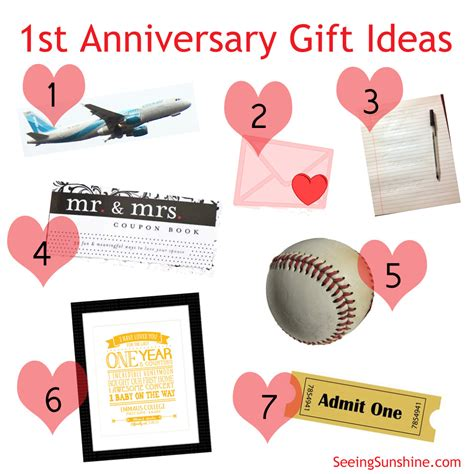 1 year anniversary gifts for 1st year anniversary gift ideas boyfriend gift ftempo