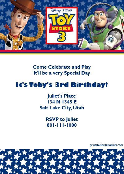 40th Birthday Ideas Toy Story Birthday Invitation Templates Free Story Invitation Template Free