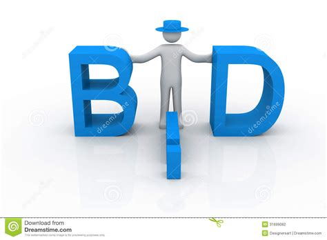 bid stock bid stock photography image 31699082