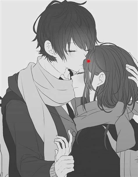anime kiss tumblr 1000 images about anime couple trending on we heart it