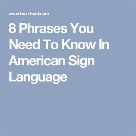 7 Important Languages Signs You Need To by Best 25 Sign Language Phrases Ideas On