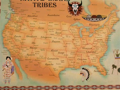 american tribes by map tradition creek outfitters for the american outdoors