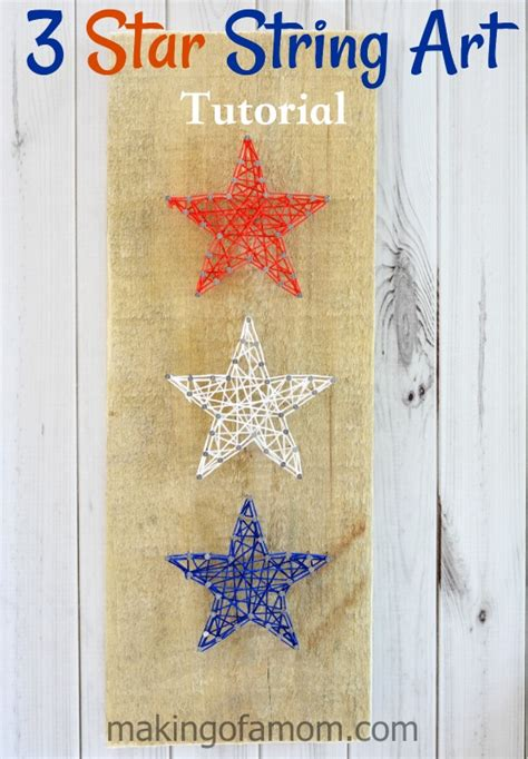 tutorial nail art sting 3 star string art tutorial