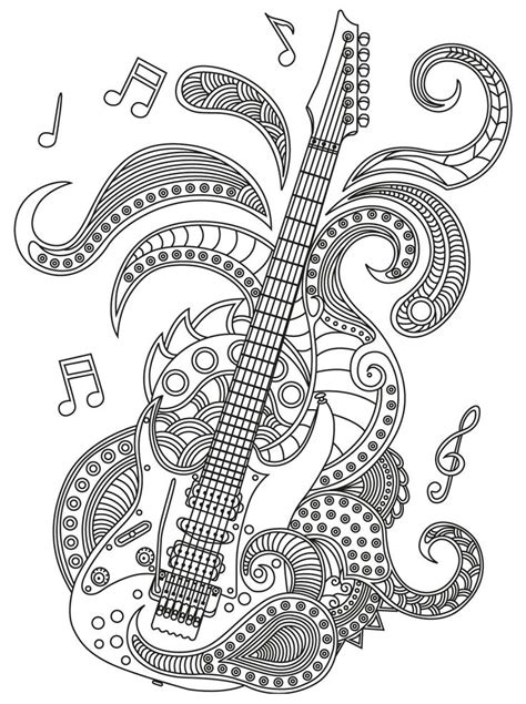 music mandala coloring pages 325 best music coloring pages for adults images on