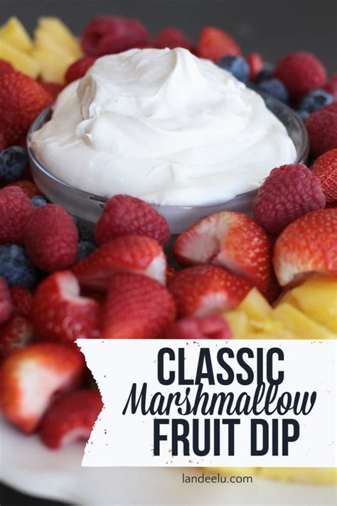 fruit dip recipe with marshmallow fluff
