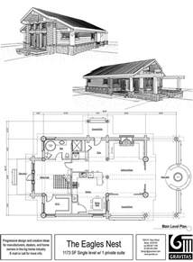 One Story Log Home Floor Plans by Cottage House Plans One Story One Story Cabin Floor Plans