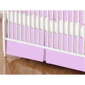 solid lavender crib bedding sheetworld crib skirt solid lavender jersey knit