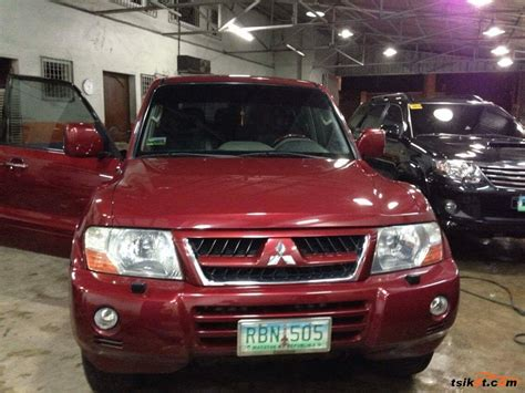 mitsubishi pajero 2004 mitsubishi pajero 2004 car for sale calabarzon philippines