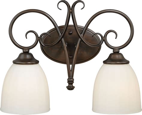 venetian bronze bathroom lighting vaxcel w0192 claret venetian bronze 2 light bathroom
