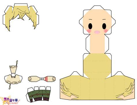Anime Papercraft Pattern - anime papercraft pattern by eric 45202173 i ntere st