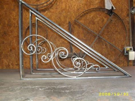 wrought iron awning brackets 17 best images about wrought iron forged metal arts on