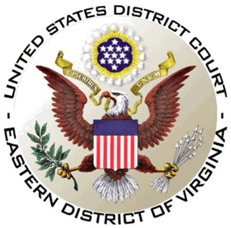 Virginia District Court Search United States District Court For The Eastern District Of Virginia