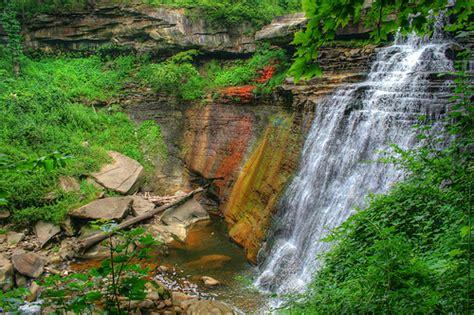 garden cuyahoga falls brandywine falls cuyahoga valley national park flickr