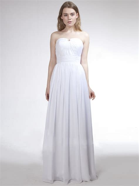 White Floor Length Dresses by Shoulder White Floor Length Homecoming Dress