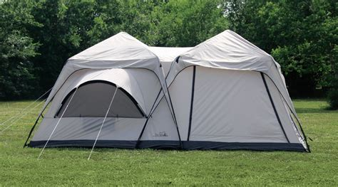 two bedroom tent texsport peaks two room cabin dome tent