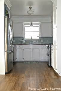 small kitchen makeover remodelaholic small white kitchen makeover with built in