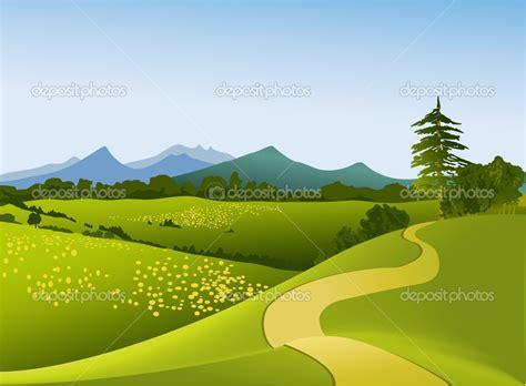 clipart montagna rural landscape clipart clipground