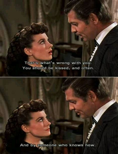 Gone With The Wind Meme - clark gable vivien leigh gone w the wind quote quotes