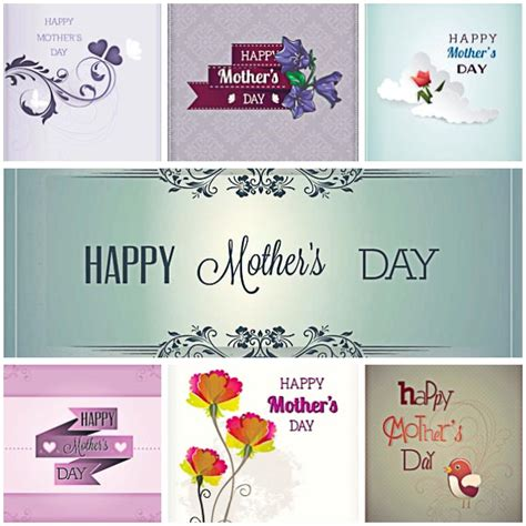 Gift Cards For Mothers Day - mother s day gift card vector free download