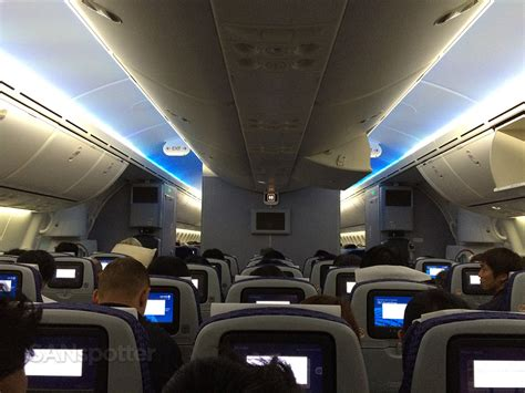 United Dreamliner Interior by Trip Report United Airlines Economy Class Tokyo Narita