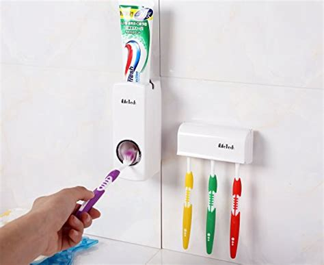 Terlaris Dispenser Odol Toothpaste Dispenser Brush Set White Tbd ilifetech free toothpaste dispenser automatic toothpaste squeezer and holder set 5 brush