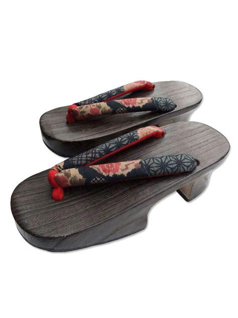 japanese sandal kaede s japanese wooden geta sandals vintage