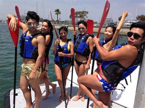 marina del rey boat rentals reviews sup for tgif with our thai friends yelp