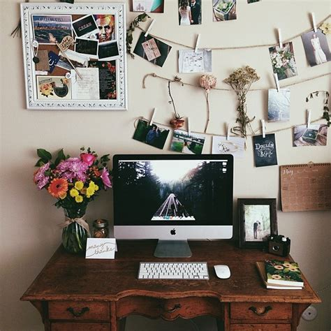 bedroom office space morning work vibes make up pinterest morning work