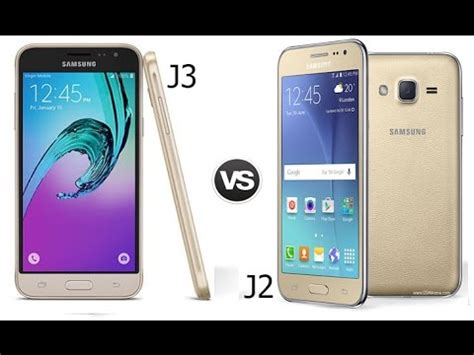 Samsung J3 J2 galaxy j3 2016 vs galaxy j2 speed test
