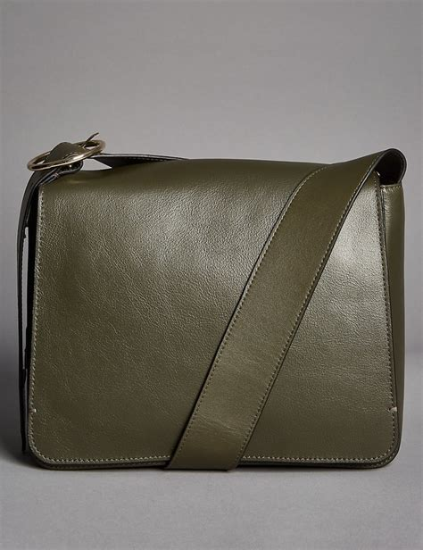 Autograph Leather Frame Bag From Marks Spencer by Leather Across Bag Endource