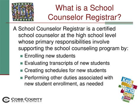 certified college advisor ppt evaluating school counselors sy11 12 powerpoint