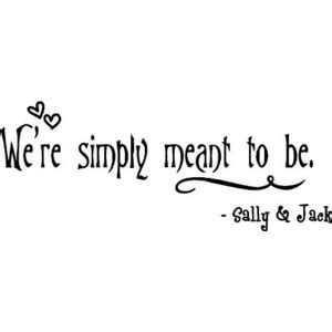 Jack Skellington Home Decor the nightmare before christmas wall quote we re simply