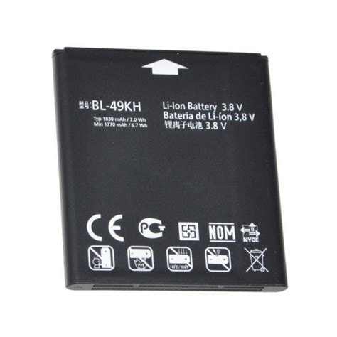 Baterai Battery Lg Optimus True P936 Bl 49kh Original 100 eredeti akkumul 225 tor lg p936 optimus true hd 233 s nitro hd