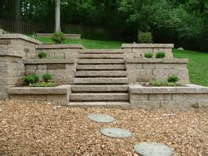 Retaining Wall Stairs Design Retaining Wall Steps Album 2