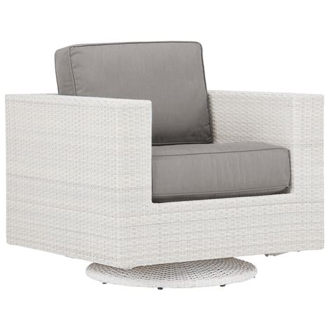 city furniture biscayne gray swivel chair