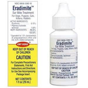 ear medicine for dogs eradimite ear mite treatment for pets vetrxdirect