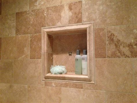 white shower niche insert home ideas collection simple