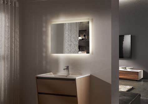 led backlit bathroom mirror jackeline backlit led bathroom mirror