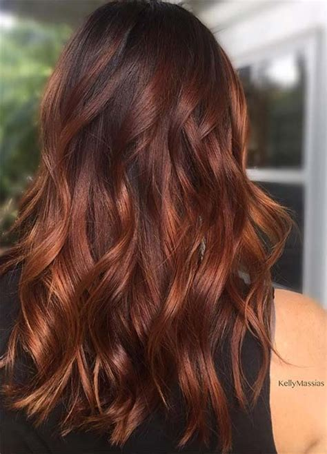 auburn with ombre highlights best 25 broux hair ideas on pinterest lob de balayage