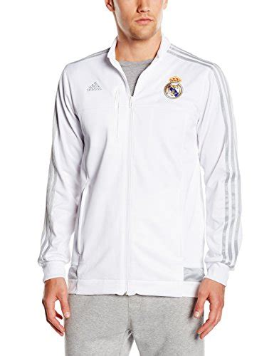 Adidas Jaket Real Anth Jkt Putih by Adidas Real Anth Jkt Chaqueta Para Hombre Multicolor