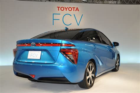 Hydrogen Car Toyota Toyota Fuel Cell Vehicle Fcv Is Ready To Hit The Road