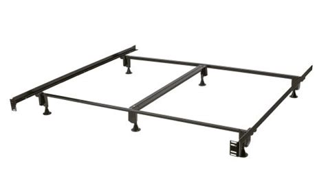 Bed Frame Assembly by Milliard 6 Leg Heavy Duty King Size Metal Bed Frame