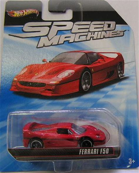 Hw Enzo Speed Machine Hotwheels Miniatur Diecast 1 models wheels diecast model car speed machines f50 f 50 2010 on card new in