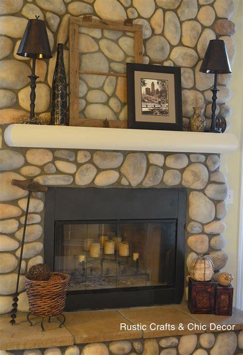hearth decor easy fall decorating ideas rustic crafts chic decor